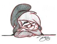 Sad Scruple Sketch