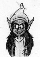 Mystico Front Face - Smurfs