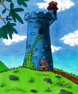 The Old Tower 2 - Smurfs