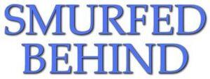 Smurfed Behind Logo