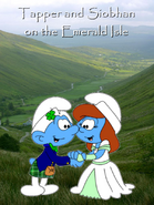 Tapper And Siobhan On The Emerald Isle