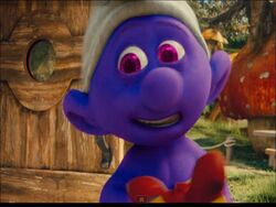 Purple Smurf Jokey 2