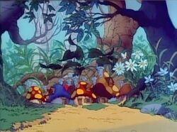 Smurf Village Cartoon