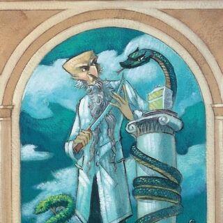 Stephano in <i>The Reptile Room</i>