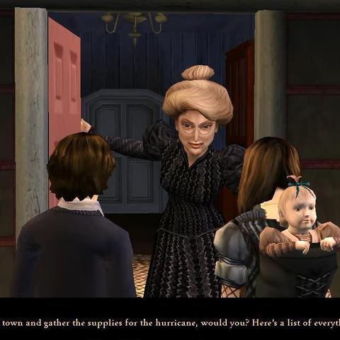 Aunt Josephine in the PC version