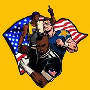 American Sports Team-KOF 94' Rebout