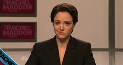 SNL Abby Elliott - Rachel Maddow