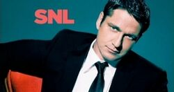 SNL Gerard Butler