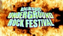 Underground rock minute