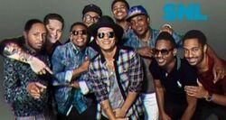 SNL Bruno Mars band
