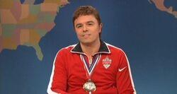 SNL Seth MacFarlane - Ryan Lochte