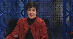 SNL Lena Dunham as Liza Minnelli