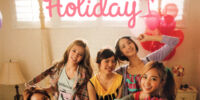1st Japan Official Photobook: Holiday