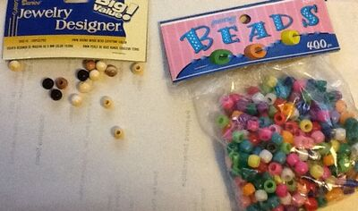 Keeper beads for keepers