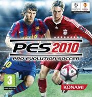 PES 2010 UK Cover