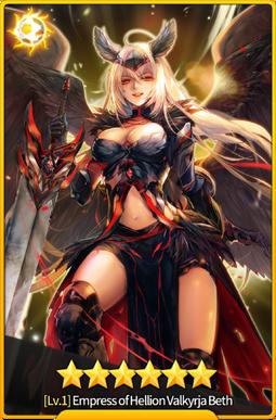 Empress of Hellion Valkyrja Beth