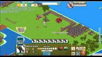 Nebular Dragon Rider VS Megatank In Social Wars