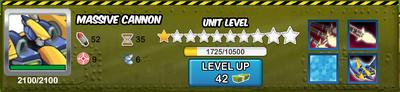 Massive Cannon Mech Stats