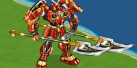 Cyber Samurai Mech