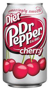 Diet dr pepper cherry