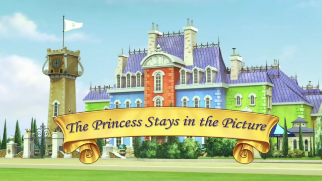 File:The Princess Stays in the Picture titlecard.png