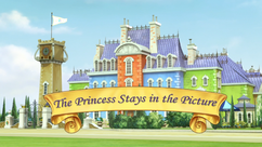 The Princess Stays in the Picture title card