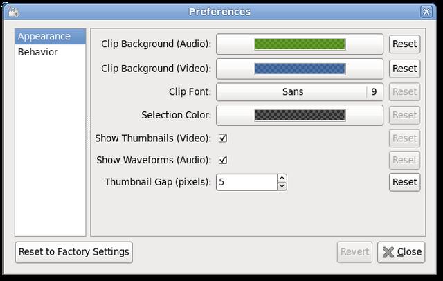 File:PiTiVi 0.13.3-Ubuntu GNOME 2 (Preferences).png