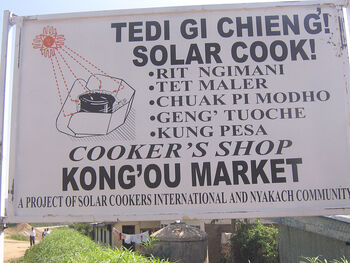 Sunny Solutions Nyakach sign