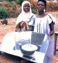 Tilo Tabiro women with CooKit 2008