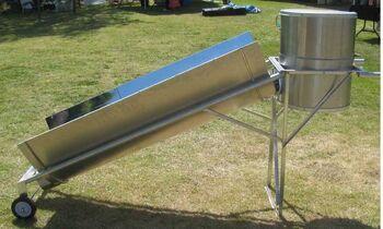 Blazing Tube Solar Appliance side