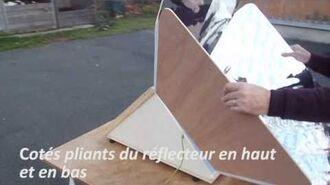 VIDEO CUISEUR SOLAIRE PLIABLE