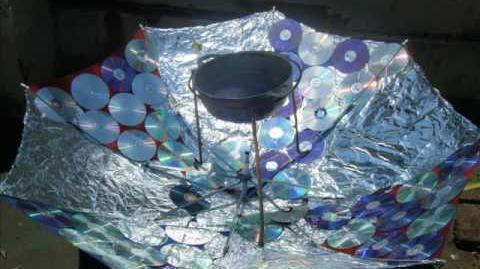 La paracocina - una cocina solar - solar cooker