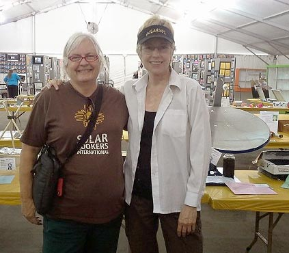 File:Sharon Clausson and Pat McArdle at San Diego County Fair 2014.jpg