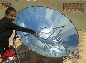 P-Solar industry parabolic photo, 9-4-13