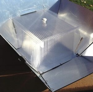 Panel-Box Cooker cooking enclosure, 11-21-12