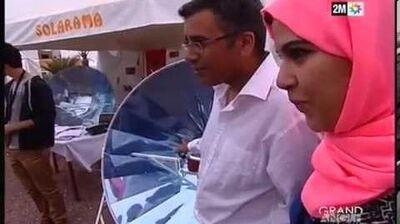 Grand angle 2M Morocco Solar Festival