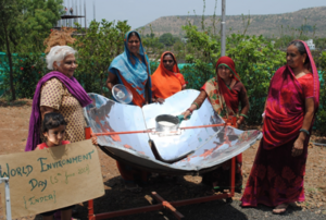 McGilligan five solar cooker subsidy to landless women, 6-22-17