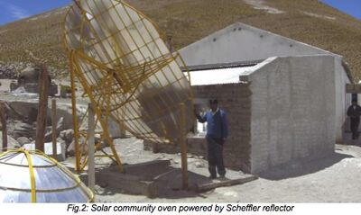 Altiplano community oven