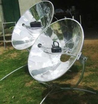 File:Olympus Flower parabolic solar cooker.jpg