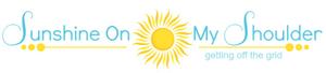 Sunshine On My Shoulder logo, 12-14-15