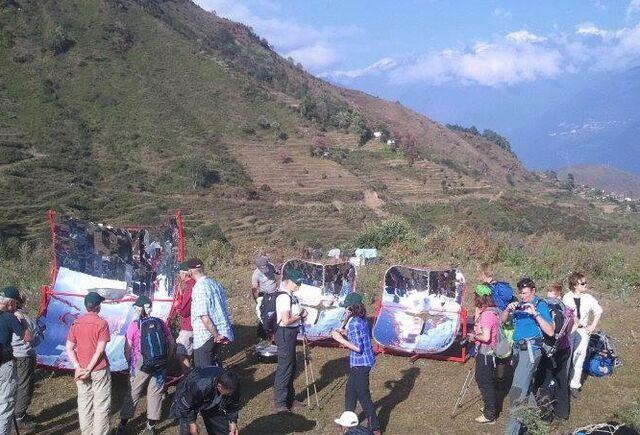 File:PRINCE solar cookers at Solar Trek, Nepal, 2013.jpg