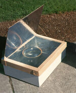Minimum Solar Box Cooker