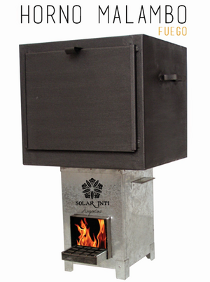 Horno MALAMBO fuel-efficient stove, 12-27-15