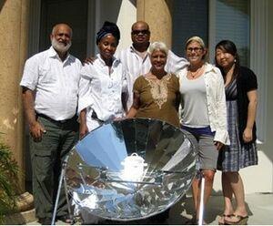 AMF family parabolic cooker photo