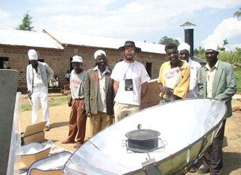 HARMONY parabolic cooker