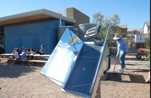 Tracking Solar Cooker, C. Alan Nichols, 7-23-15