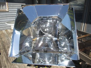 Solar Oven Reflectors 2015