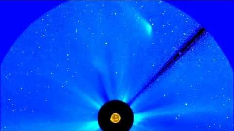 Comet ISON's Full Perihelion Pass NASA