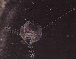 Pioneer 10 art