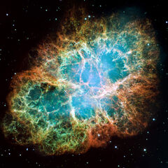 M1, The Crab Nebula.